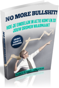 "e-boek ""No more bullshit!"""